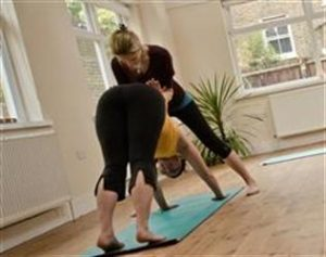 Fertility Yoga Fiona Adj Downward Dog_Im Sublime awakening fertility_New