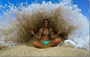 Have your meditation experiences made a splash too? With Fiona Kacz-Boulton