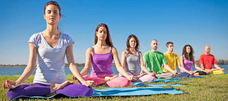 Outdoor Yoga and Meditation Group
