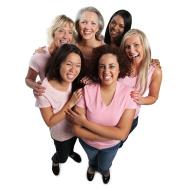 Happy Group of Women Fertility Specialists