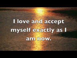 i love and accept myself exactly as I am - awakening fertility