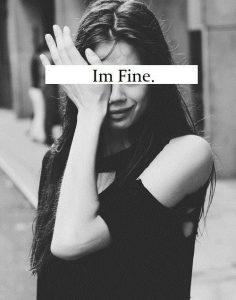 TTC Depression - Im fine