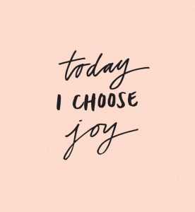 Today I Choose Joy For Awakening Fertility