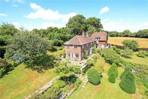 Fertility Retreat Venue, Surrey - Aerial View