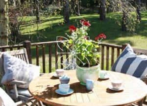 Fertility Retreat Venue, Surrey - Outside seating