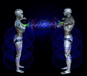Energy Field with Heart Connection