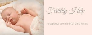Fertility Help FaceBook Group Cover